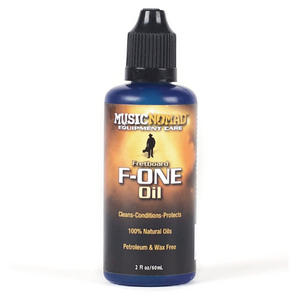 MusicNomad Fretboard F ONE Oil - Cleaner & Conditioner 2 oz