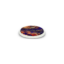 Load image into Gallery viewer, TUCKED SKYNDEEP® BONGO DRUMHEAD - MOLTEN SEA GRAPHIC