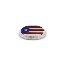 Load image into Gallery viewer, TUCKED SKYNDEEP® BONGO DRUMHEAD - PUERTO RICAN FLAG GRAPHIC