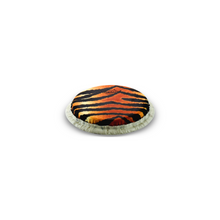 Load image into Gallery viewer, TUCKED SKYNDEEP® BONGO DRUMHEAD - TIGER STRIPE GRAPHIC