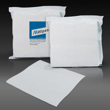 "Load image into Gallery viewer, Cleanroom Wipes, Non-Sterile, Cellulose/Polyester, 9"" x 9"" (30,000 Wipes/100 Bags/Case)"