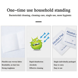 Disposable 75% Alcohol Disinfection Paper