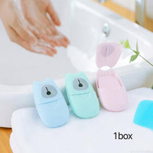 Load image into Gallery viewer, 50pcs Disposable Mini Paper Soap