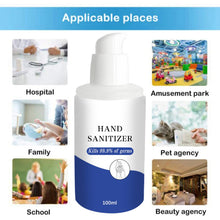 Load image into Gallery viewer, Hand Sanitizer Portable Household Cleaning Gel