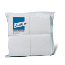 "Load image into Gallery viewer, Cleanroom Wipes, Non-Sterile, Cellulose/Polyester, 4"" x 4"" (60,000 Wipes/100 Bags/Case)"
