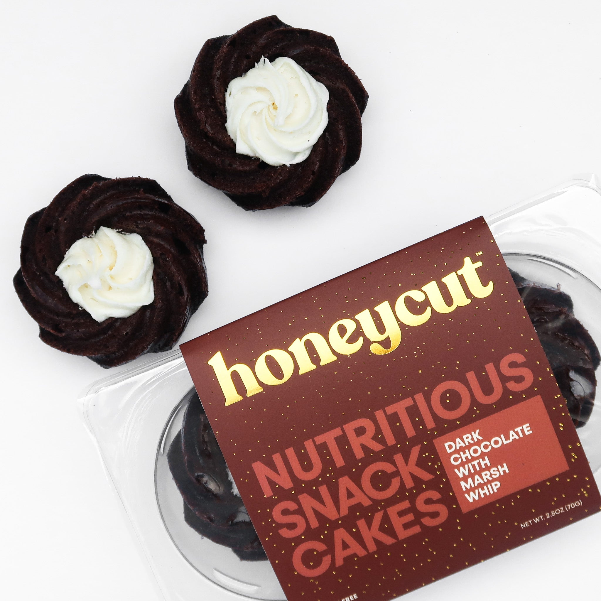 Dark Chocolate Snack Cake | 2.5oz - Tastermonial - Honeycut Kitchen