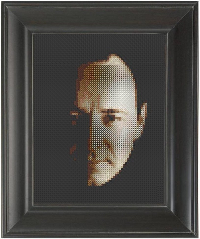 Kevin Spacey - Cross Stitch Pattern Chart