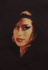 Amy Winehouse - Cross Stitch Pattern Chart - FEATURED