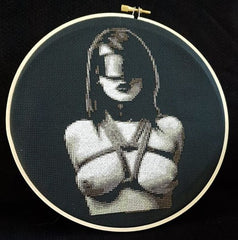 Bondage 04 - Cross Stitch Pattern Chart Erotic Nude Sexy NSFW