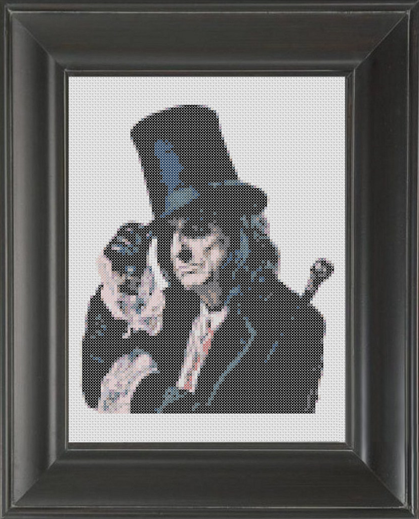 Alice Cooper - Cross Stitch Pattern Chart