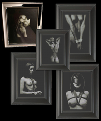 A Bondage Set 01 - Cross Stitch Pattern Chart Erotic Nude Sexy NSFW