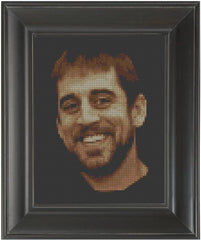 Aaron Rodgers - Cross Stitch Pattern Chart