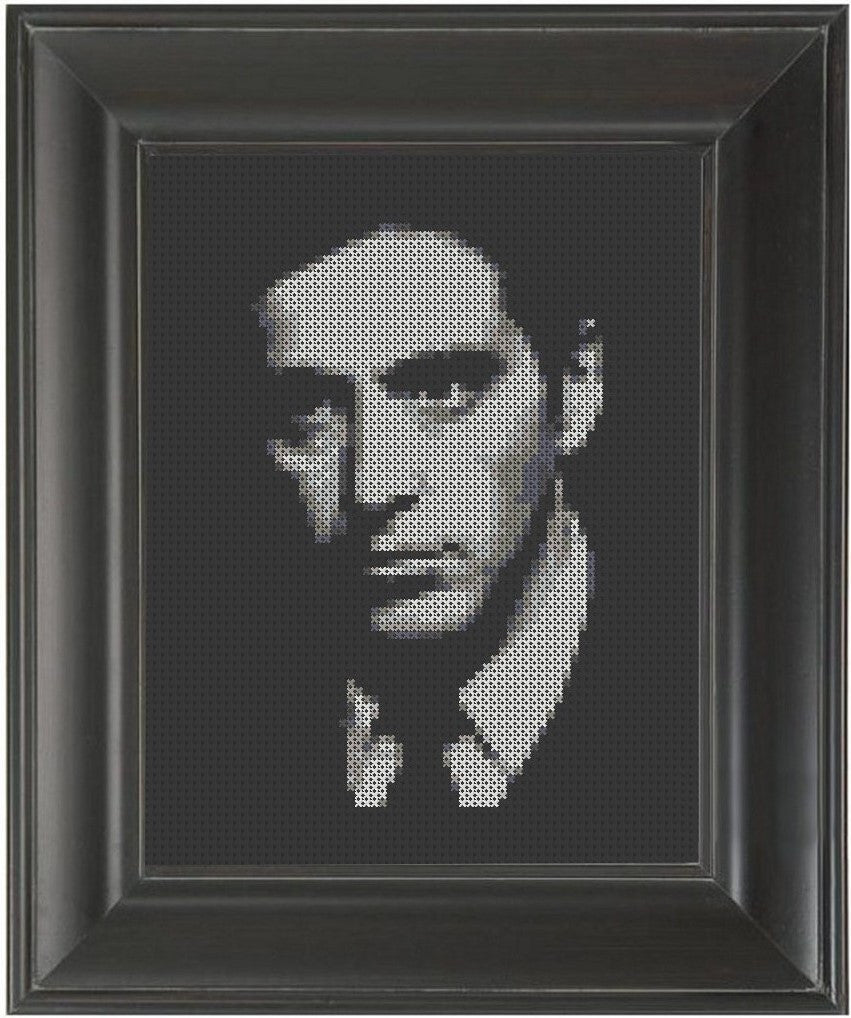 Al Pacino - Cross Stitch Pattern Chart