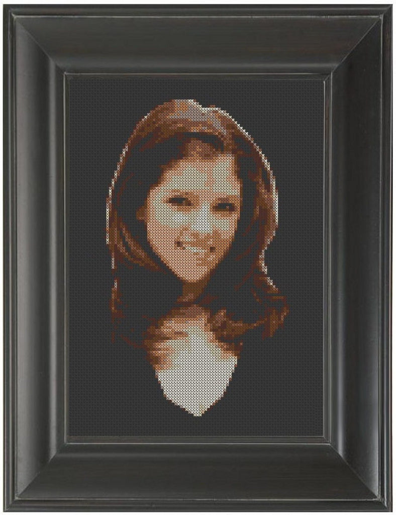 Anna Kendrick - Cross Stitch Pattern Chart