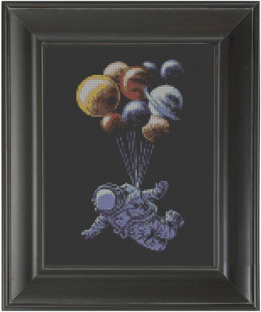 Astronaut - Cross Stitch Pattern Chart