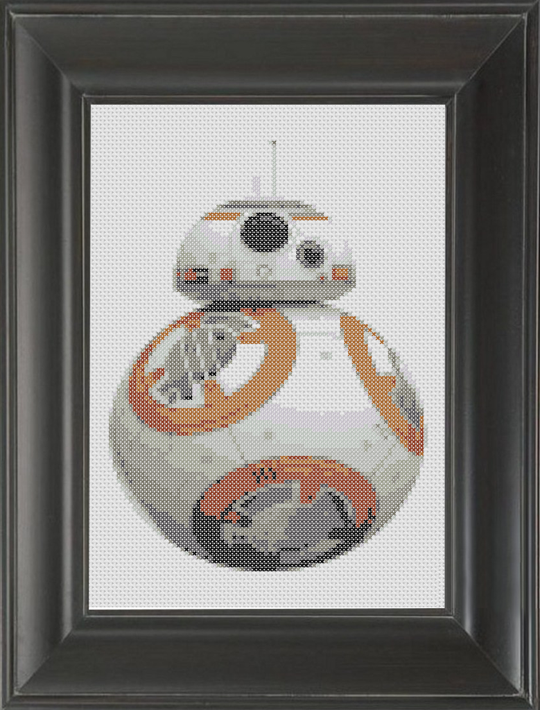BB8 - Cross Stitch Pattern Chart