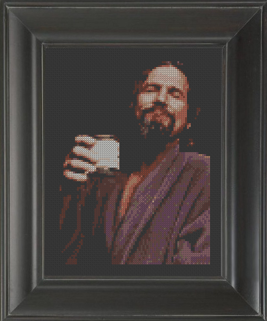 Big Lebowski, The - Cross Stitch Pattern Chart