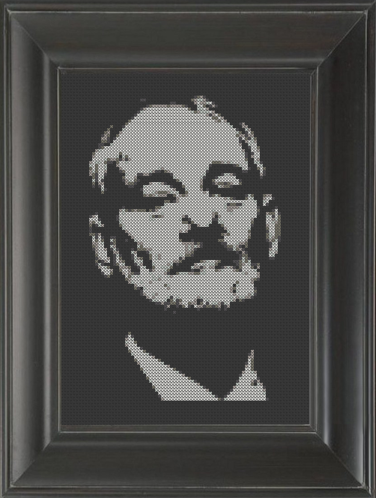 Bill Murray - Cross Stitch Pattern Chart