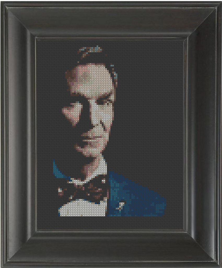 Bill Nye - Cross Stitch Pattern Chart