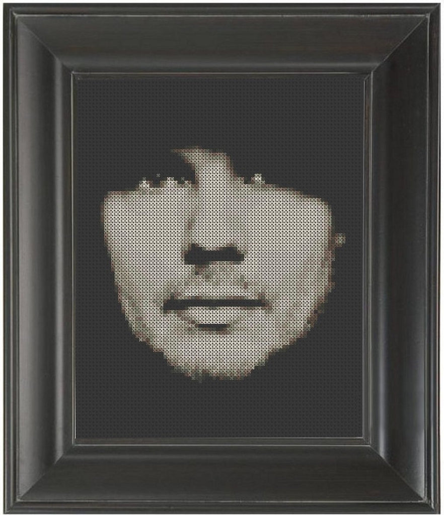 Billy Corgan - Cross Stitch Pattern Chart