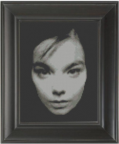 Bjork - Cross Stitch Pattern Chart