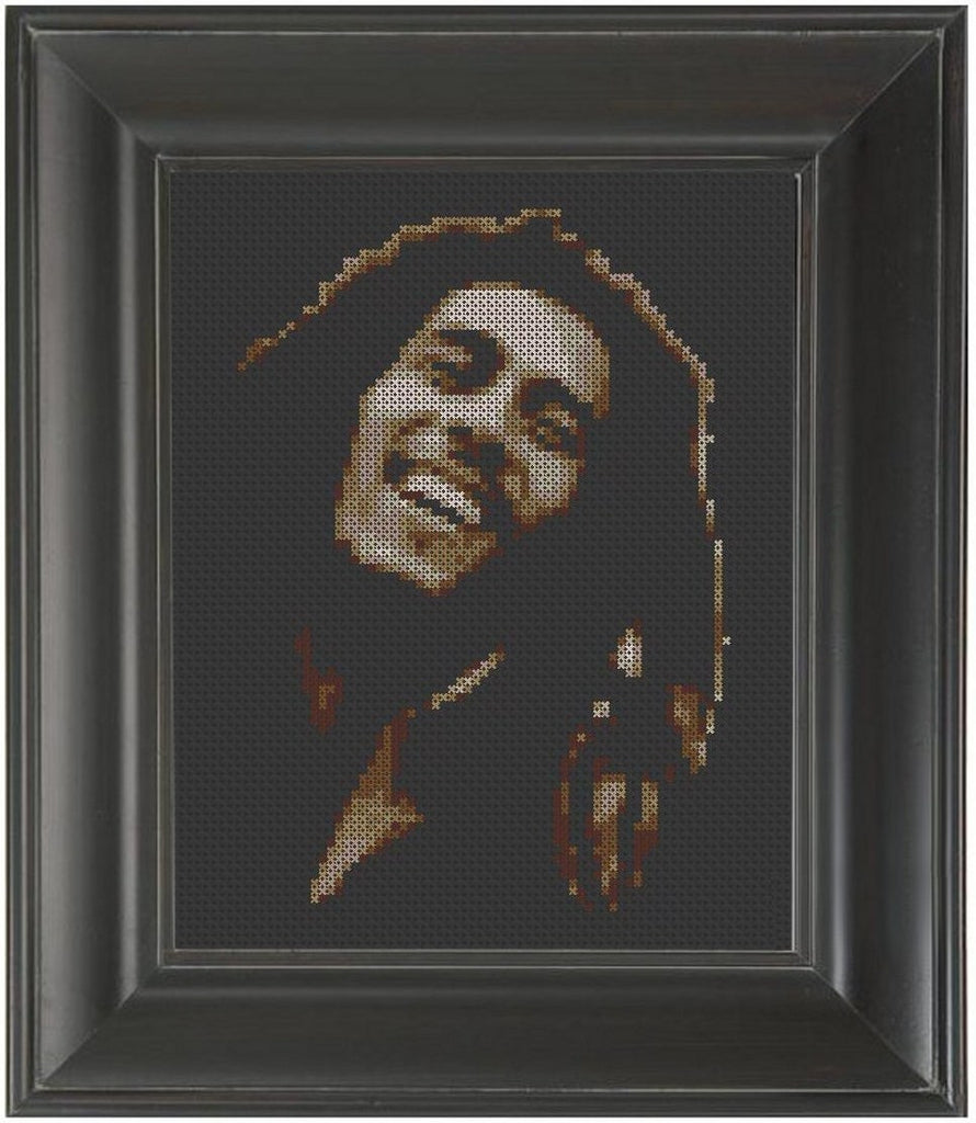 Bob Marley - Cross Stitch Pattern Chart