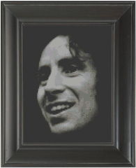 Bon Scott - Cross Stitch Pattern Chart