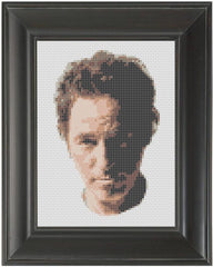 Bruce Springsteen - Cross Stitch Pattern Chart