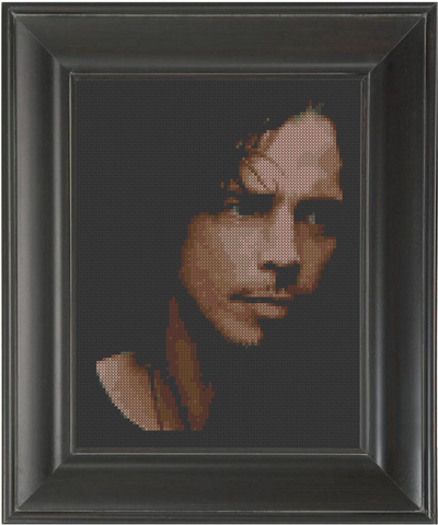 Chris Cornell - Cross Stitch Pattern Chart