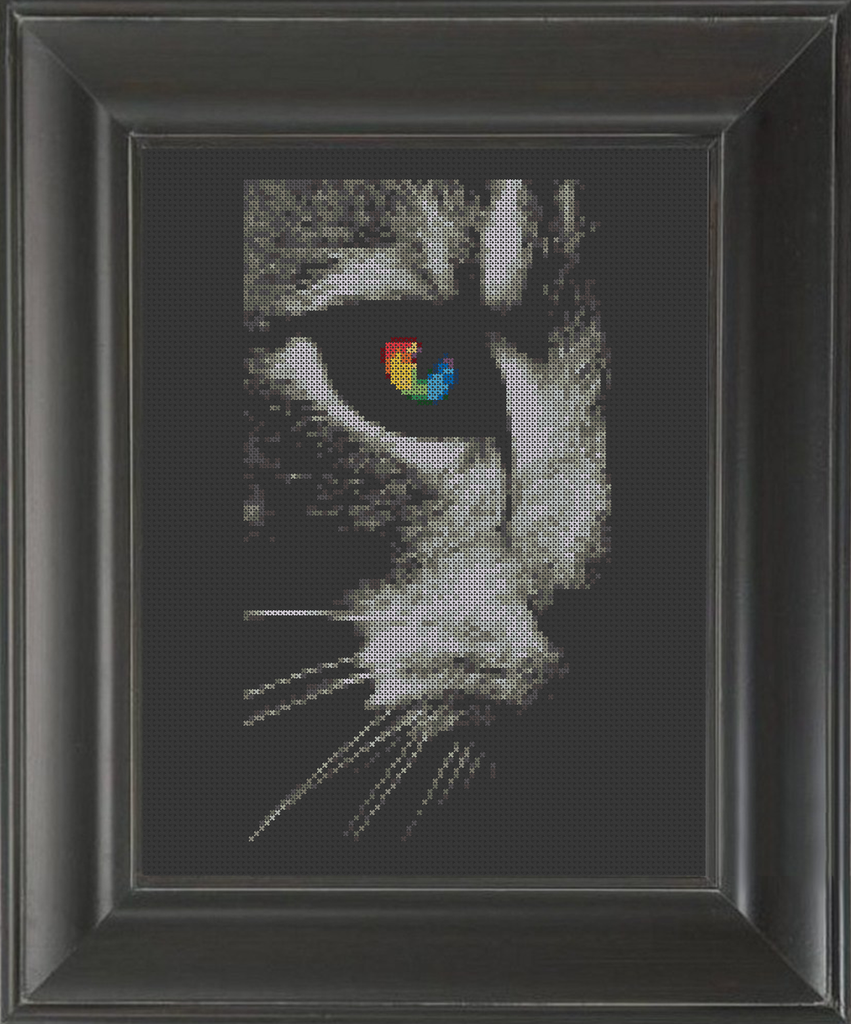Cat's Eye - Cross Stitch Pattern Chart