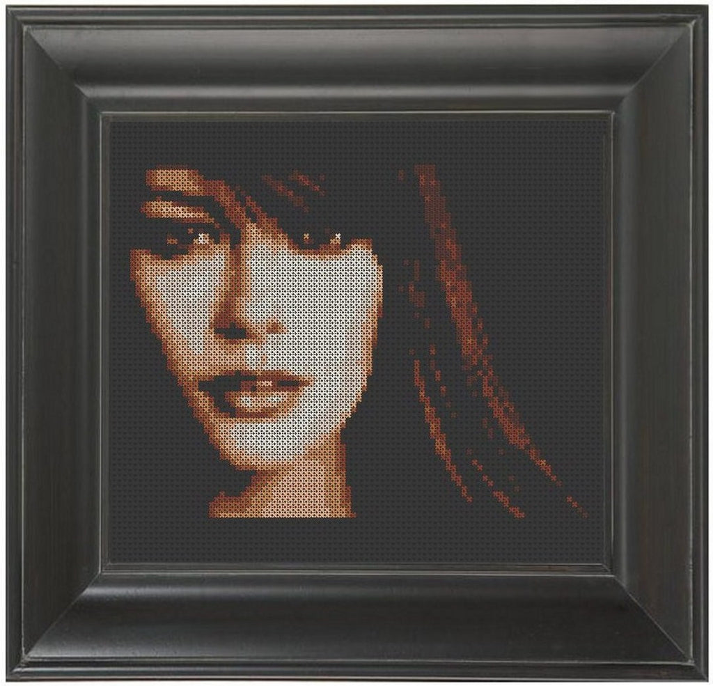 Catherine Zeta-Jones - Cross Stitch Pattern Chart