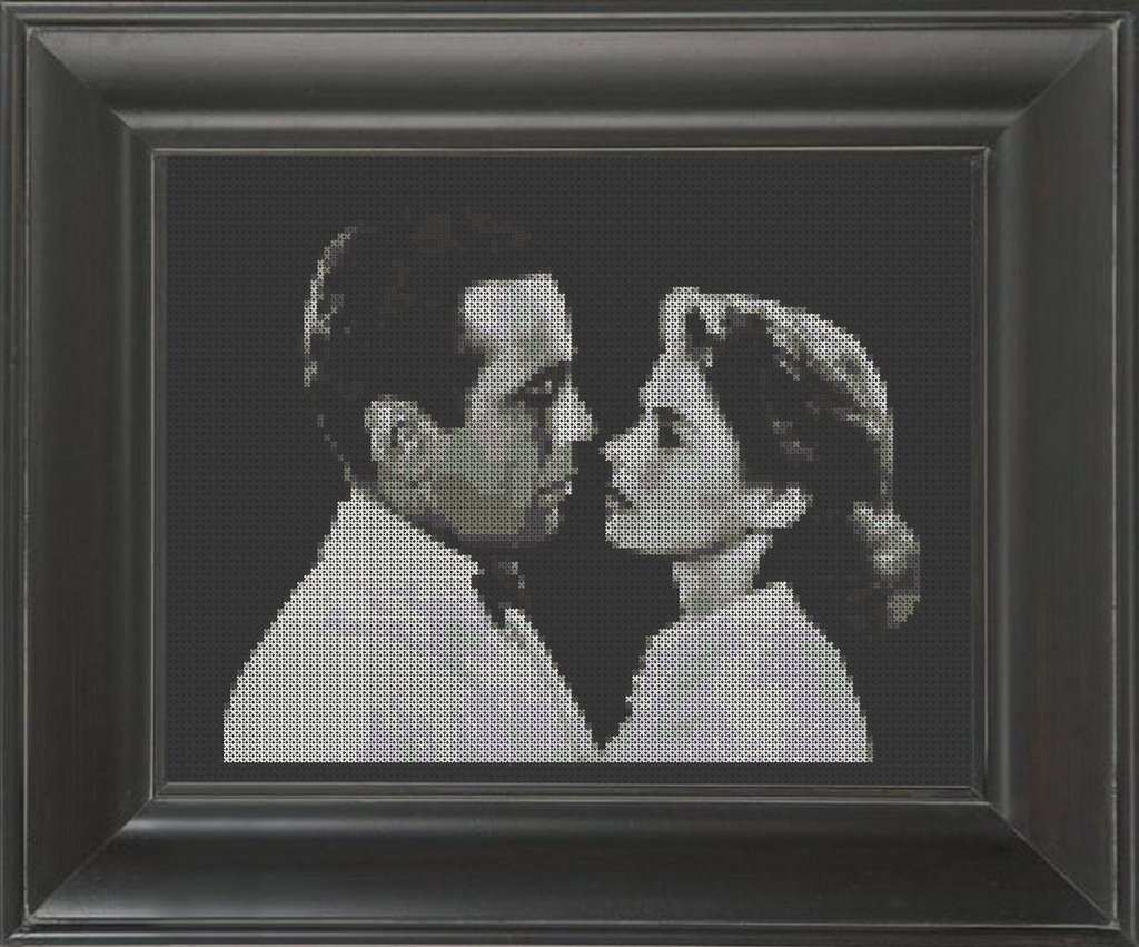 Casablanca - Cross Stitch Pattern Chart