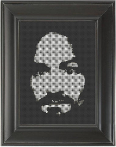 Charles Manson - Cross Stitch Pattern Chart