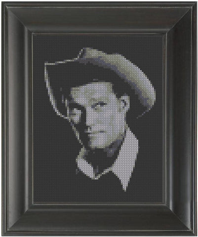 Chuck Connors - Cross Stitch Pattern Chart
