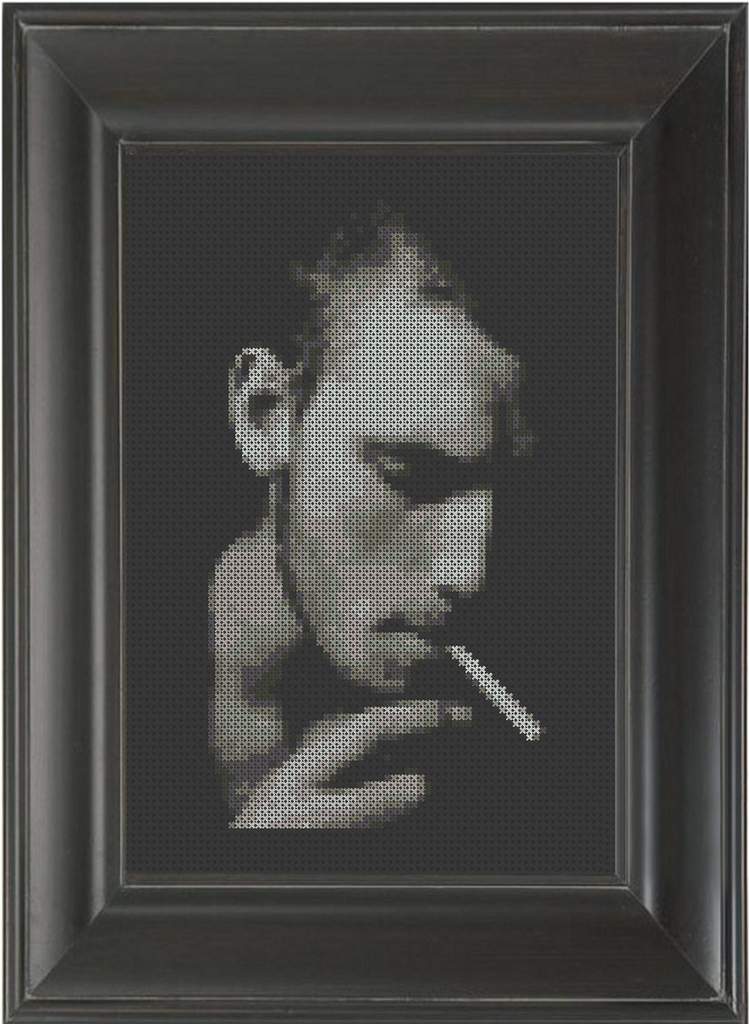 Cigarette - Cross Stitch Pattern Chart