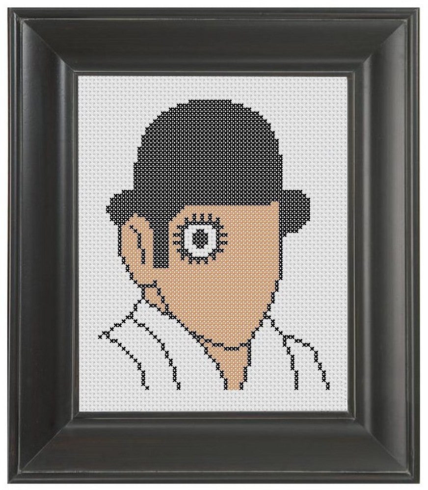 Clockwork Orange - Cross Stitch Pattern Chart
