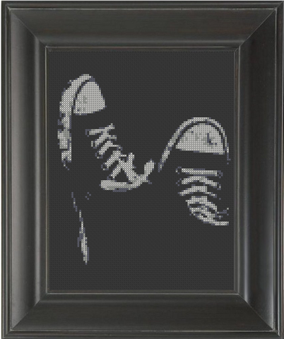 Converse - Cross Stitch Pattern Chart