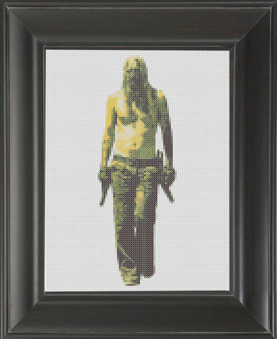 Devil's Rejects, The - Cross Stitch Pattern Chart
