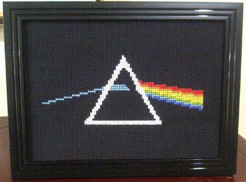 Dark Side Of The Moon - Cross Stitch Pattern Chart