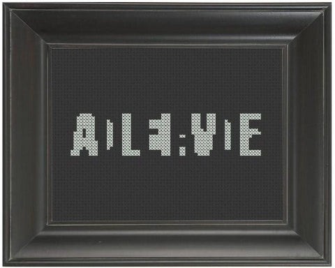 Dead or Alive - Cross Stitch Pattern Chart
