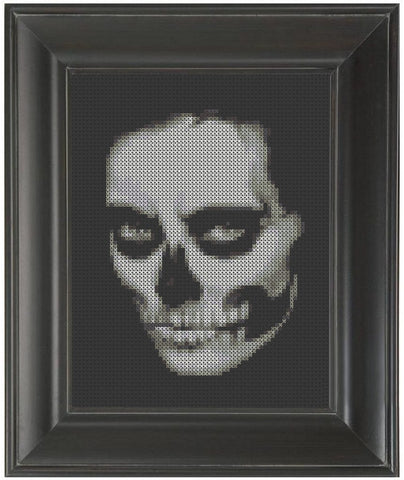 Death Woman - Cross Stitch Pattern Chart