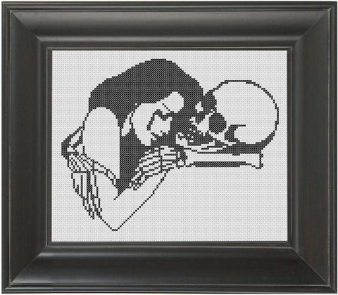 Death and Longing - Cross Stitch Pattern Chart