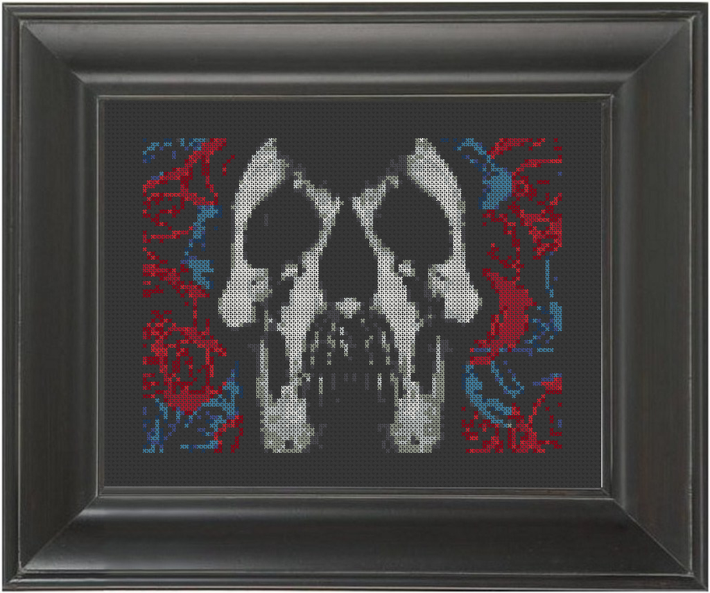 Deftones - Cross Stitch Pattern Chart