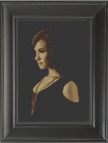 Demi Lovato - Cross Stitch Pattern Chart