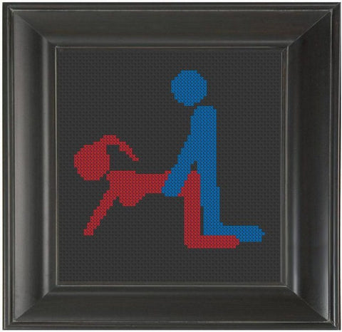 Doggy Style - Cross Stitch Pattern Chart