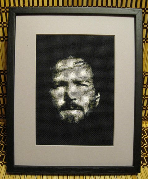 Eddie Vedder - Cross Stitch Pattern Chart