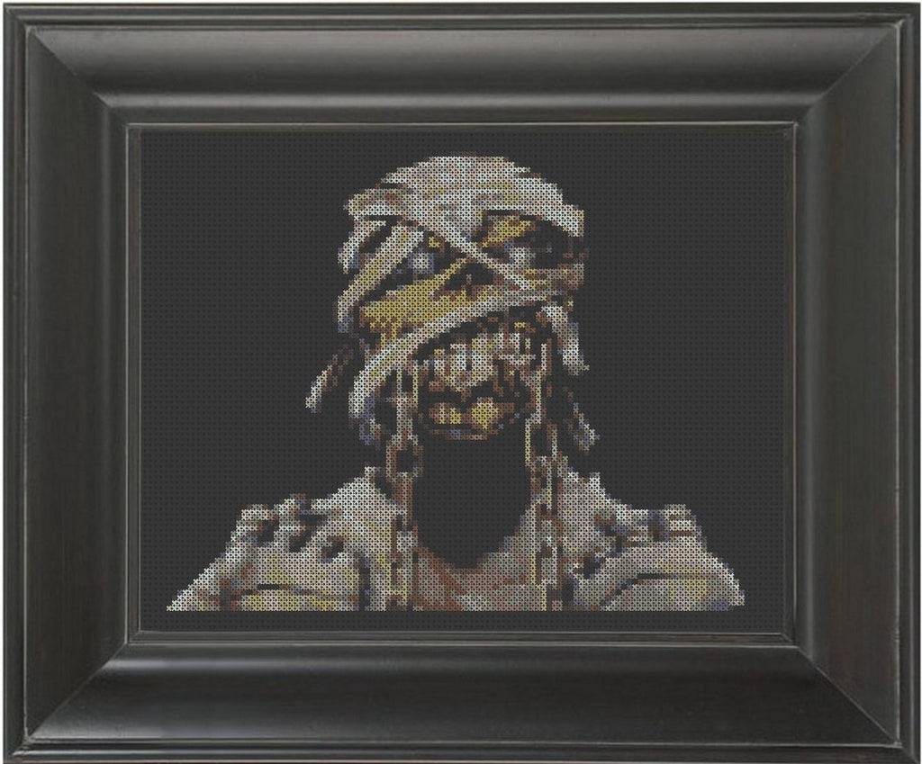Eddie - Cross Stitch Pattern Chart
