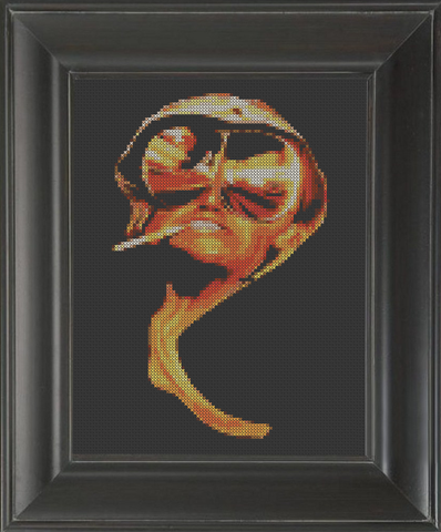 Fear and Loathing 02 - Cross Stitch Pattern Chart