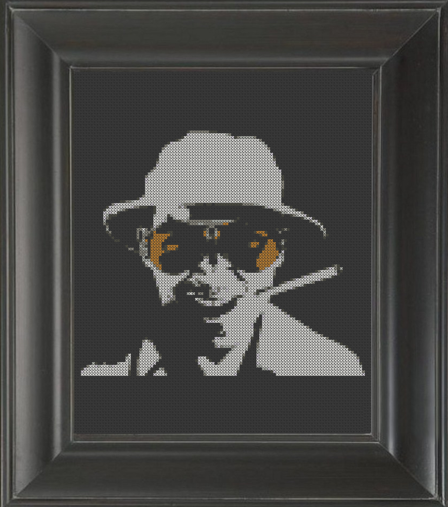 Fear and Loathing - Cross Stitch Pattern Chart