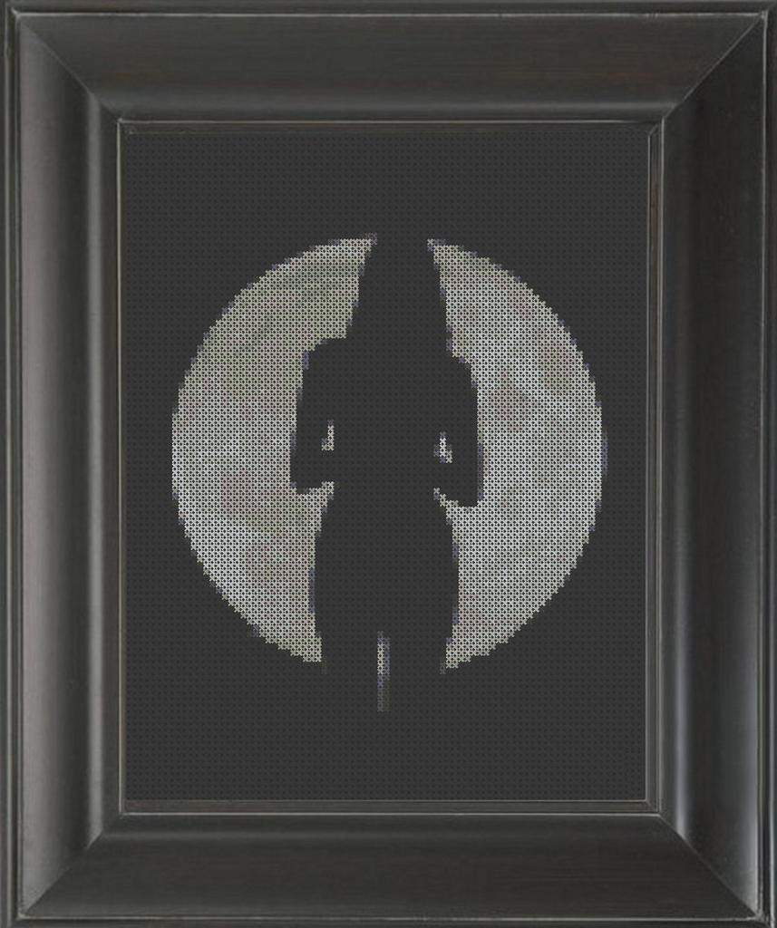 Fly Me to the Moon - Cross Stitch Pattern Chart